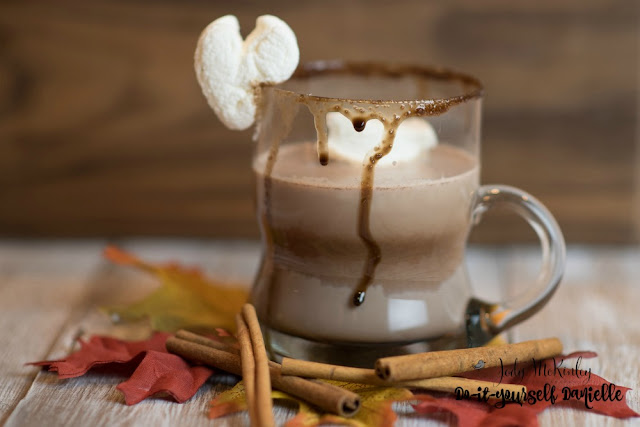 """This Rum Chata Hot Cocoa got an exclamation of """"WOW!"""" from a friend. And it's super easy."""
