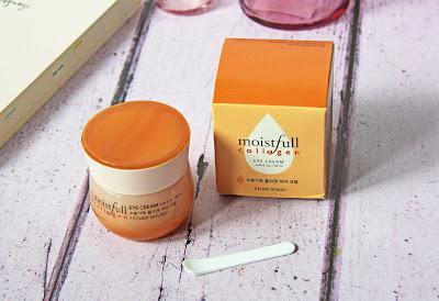 koreańska pielęgnacja etude house moistfull collagen eye cream opinie