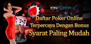 Bandar Judi QQ Idn Poker Bonus Member Baru Terbesar