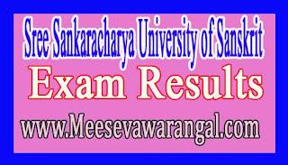 Sree Sankaracharya University of Sanskrit Ph.D Course Marks Memo 2016-17 Exam Results