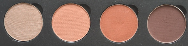 Makeup Geek Eyeshadow Swatches Hipster Frappe Cocoa Bear Americano
