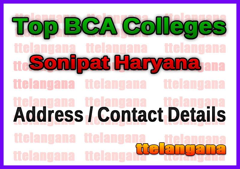Top BCA Colleges in Sonipat Haryana
