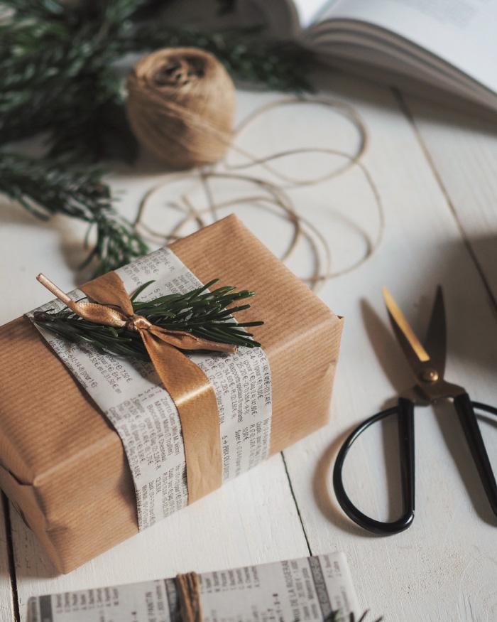 Idées d'emballage cadeaux 100% récup'