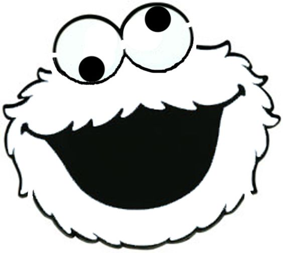 Download Free printable elmo face stencils outline cutout