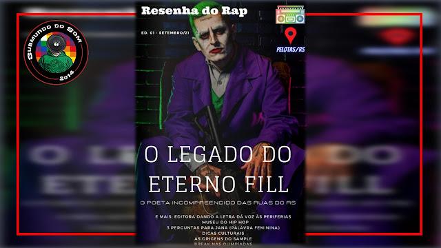 Lançamento da Revista Resenha do Rap