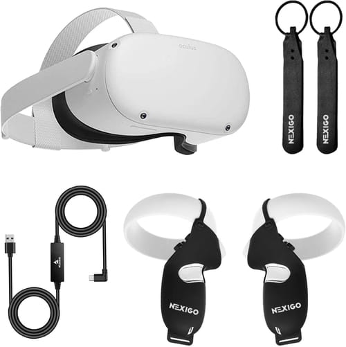 2020 Newest Quest 2 VR Headset 256GB Holiday Bundle