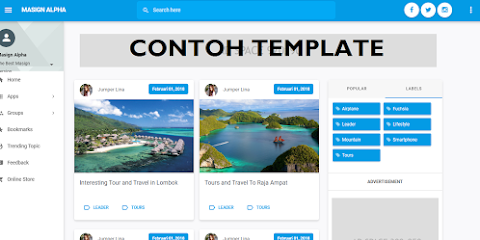Download Template Toko Online Premium Masign Alpha [Redesign]