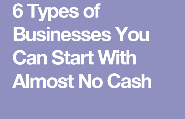 business with no money