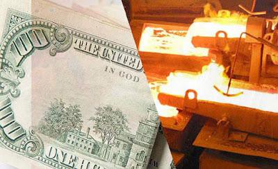 El dólar sigue a la baja, mientras el cobre alcanza valores históricos