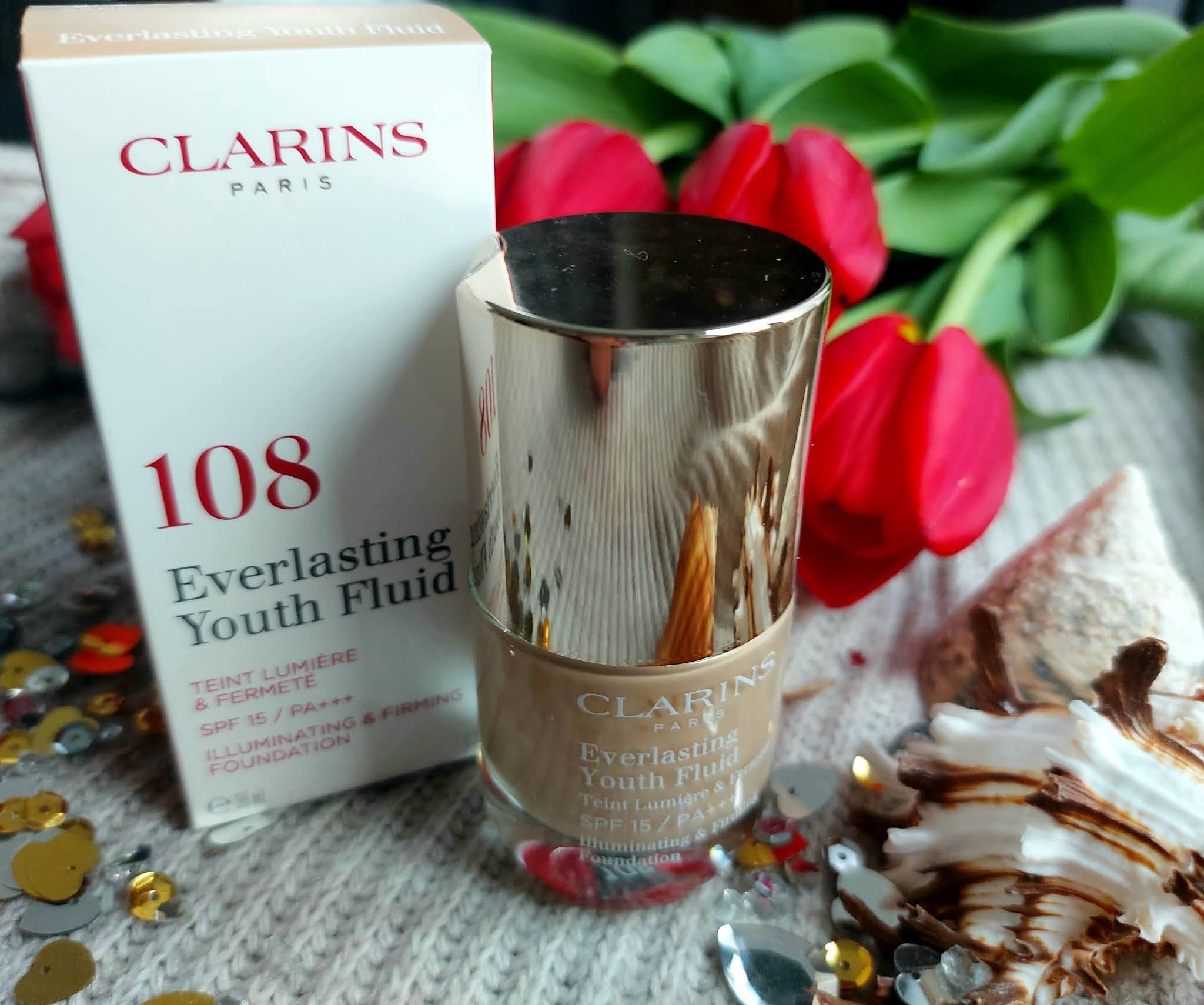 Clarins Everlasting Youth Fluid - najlepszy podklad dla cery dojrzalej? Aneta Lason Beauty Talks