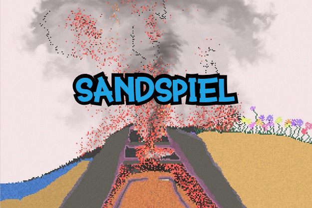 Sandspiel - Φωτιές, λάβα, νερό, εκρήξεις και πολλά ακόμη σε μία διαδραστική προσομοίωση φυσικής