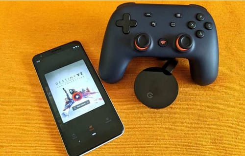 Google can control Stadia games on TV using mobile phone