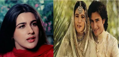 Amrita singh and saif ali khan