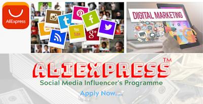 Aliexpress Influencers Program