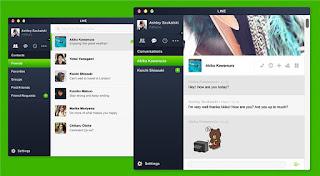 تطبيق لاين لرسائل و الاتصالات المجانية | تحميل و تثبيت تطبيق line messenger للكمبيوتر
