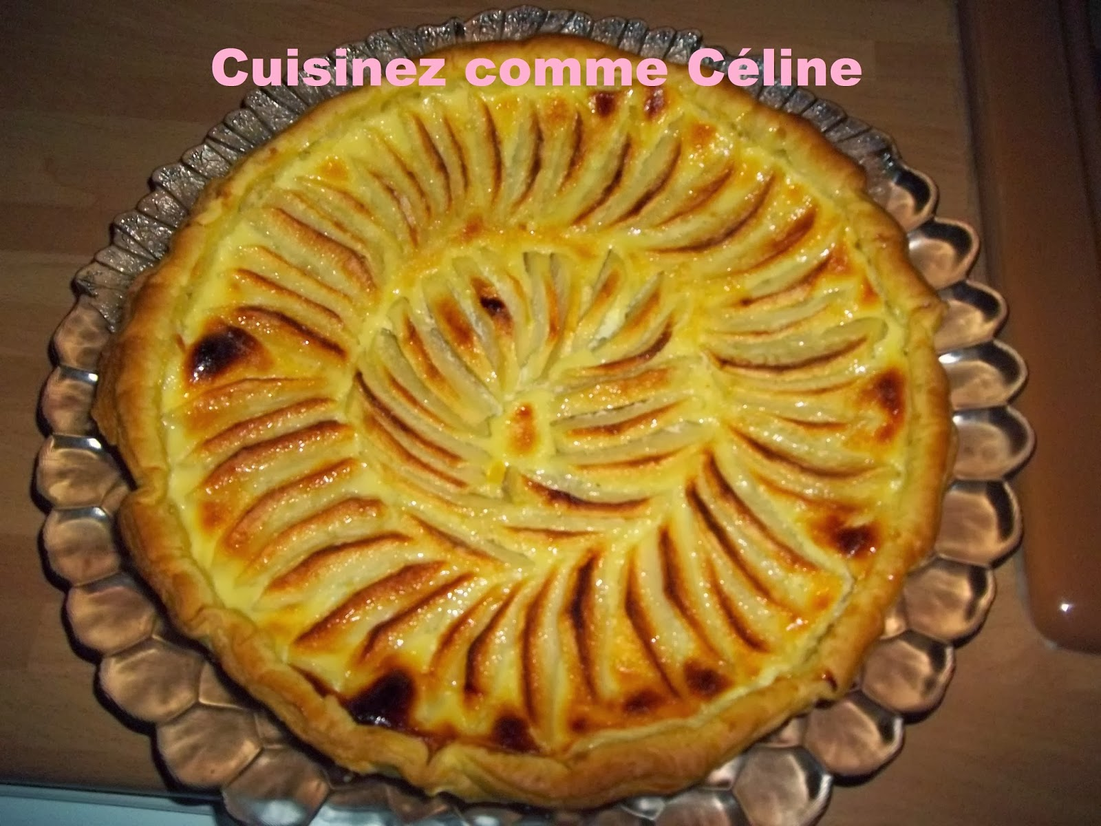 cuisinezcommec line tarte aux pommes. Black Bedroom Furniture Sets. Home Design Ideas
