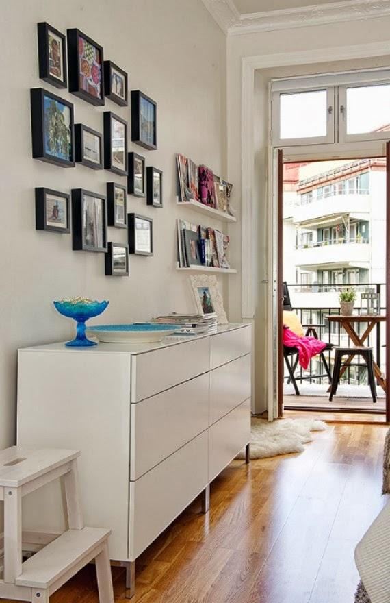Una Pizca de Hogar: 8 soluciones para decorar con mucho arte tus paredes