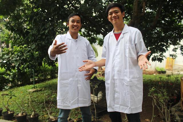 harga jas laboratorium kimia lengan panjang dan lengan pendek