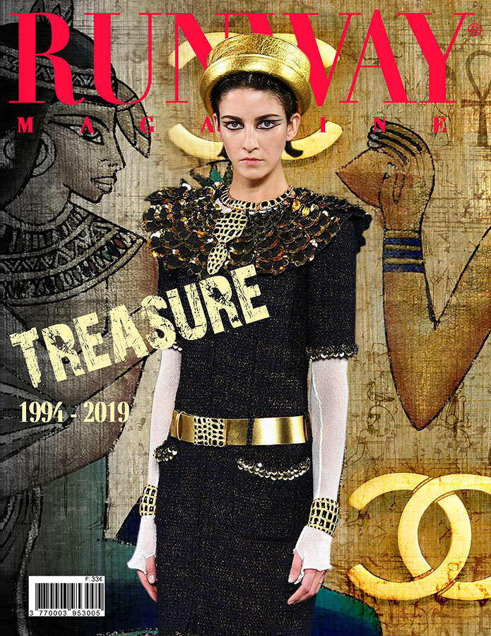 RUNWAY MAGAZINE issue 2019, RUNWAY MAGAZINE cover 2019, CHANEL Metiers d'Art.