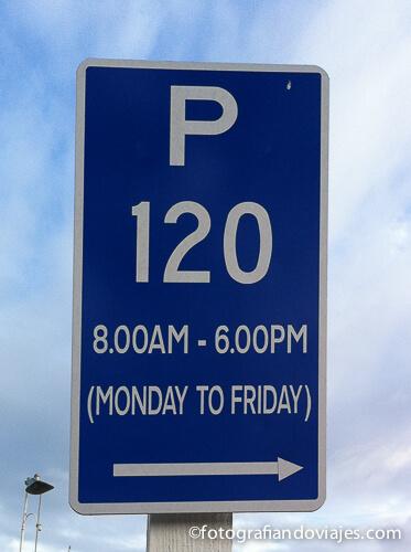 aparcamiento en Nueva Zelanda