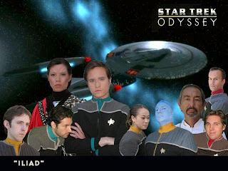 the starship Oddysey and its crew
