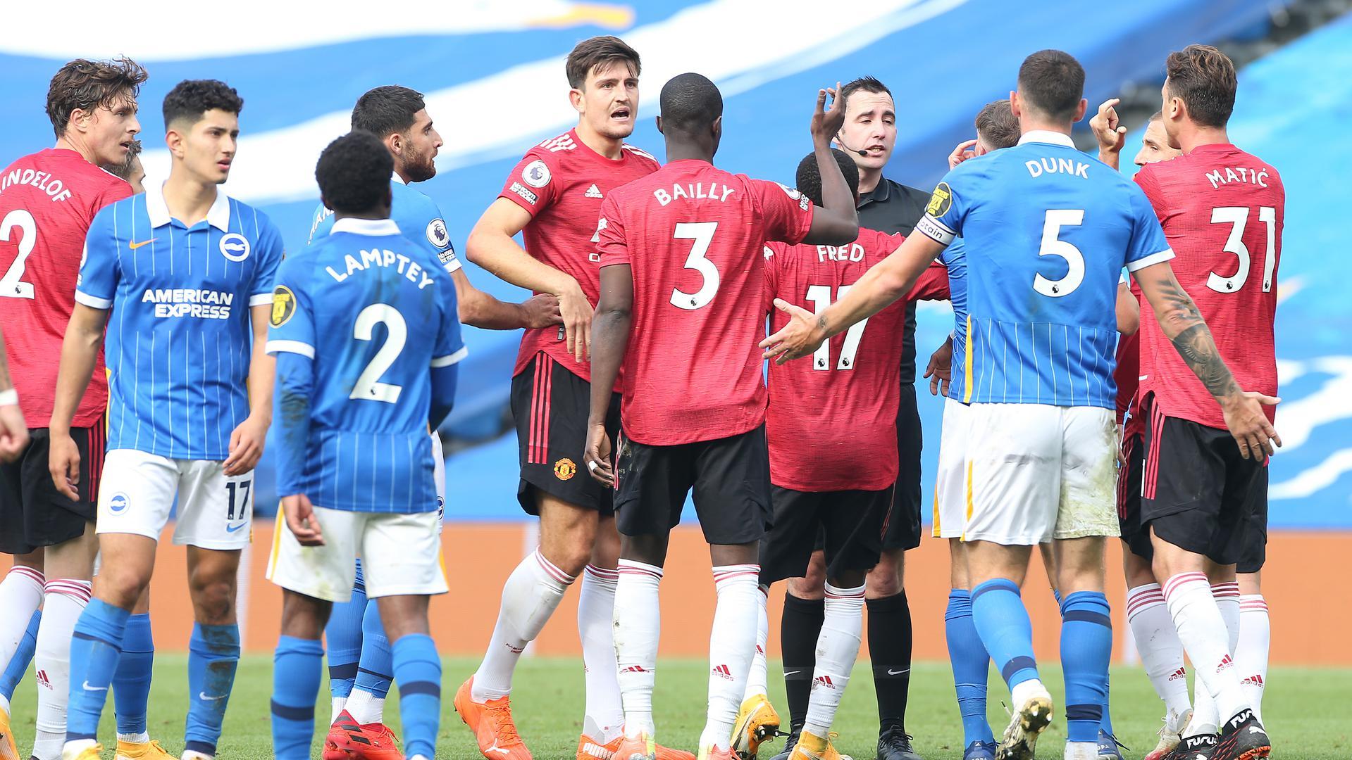 موعد مواجهة مانشستر يونايتد وبرايتون اند هوف البيون ضمن مواجهات الدوري الانجليزي