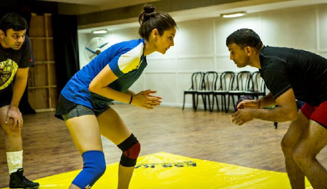 Photos: Anushka Sharma's First Look of Sultan