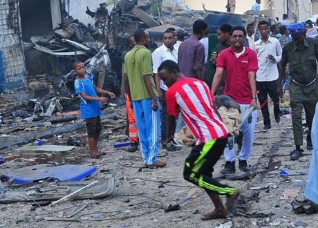 Ledakan Bom Guncang Somalia, Sedikitnya 14 Tewas