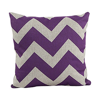 Chevron strip pillowcase