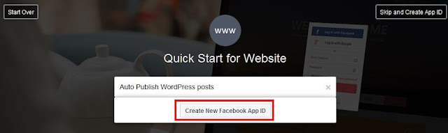 WordPress post to facebook