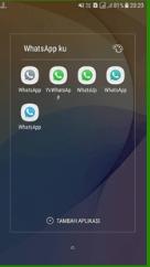 Cara Install Aplikasi WhatsApp Lebih dari 2 Di 1 Smartphone Tanpa Root