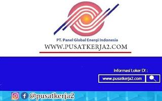 Lowongan Kerja Medan SMA SMK PT Panel Global Energi Indonesia Oktober 2020