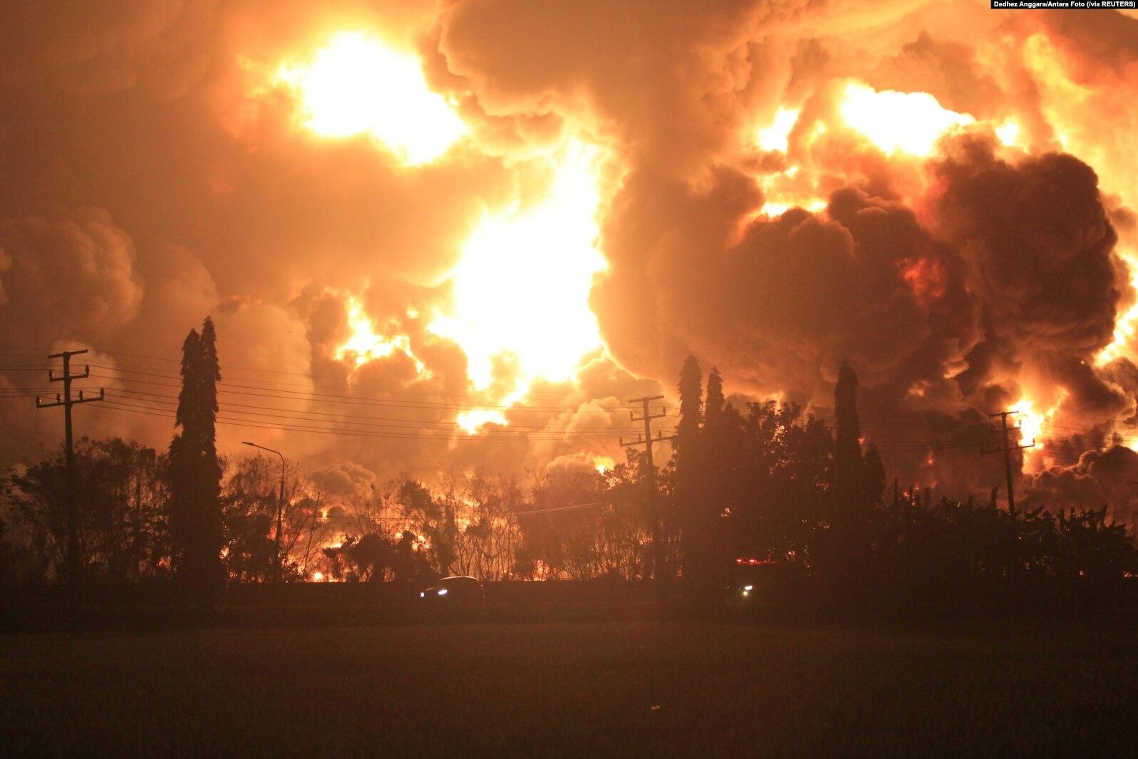 Pasca Kebakaran Kilang Minyak Balongan, Pertamina: Stok BBM Nasional Aman