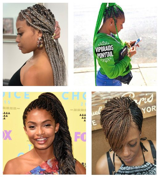 If you are searching for a new African braided style for your natural hair 39+ Latest Layered Micro Braids Styles 2019 With Micro Twists