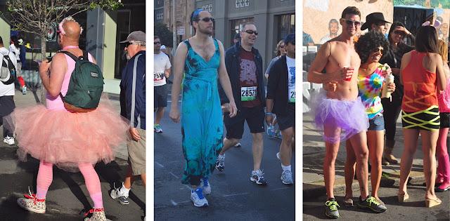 drag men males Bay to Breakers San Francisco