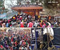 गढीमाई मन्दिरमा बलि चढाउनेको ओइरो, सवारी व्यवस्थापन नगरिंदा घण्टौं जाम