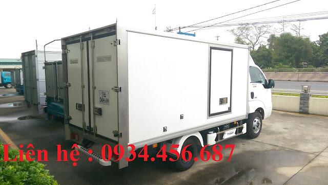Kia K200 thùng đông lạnh