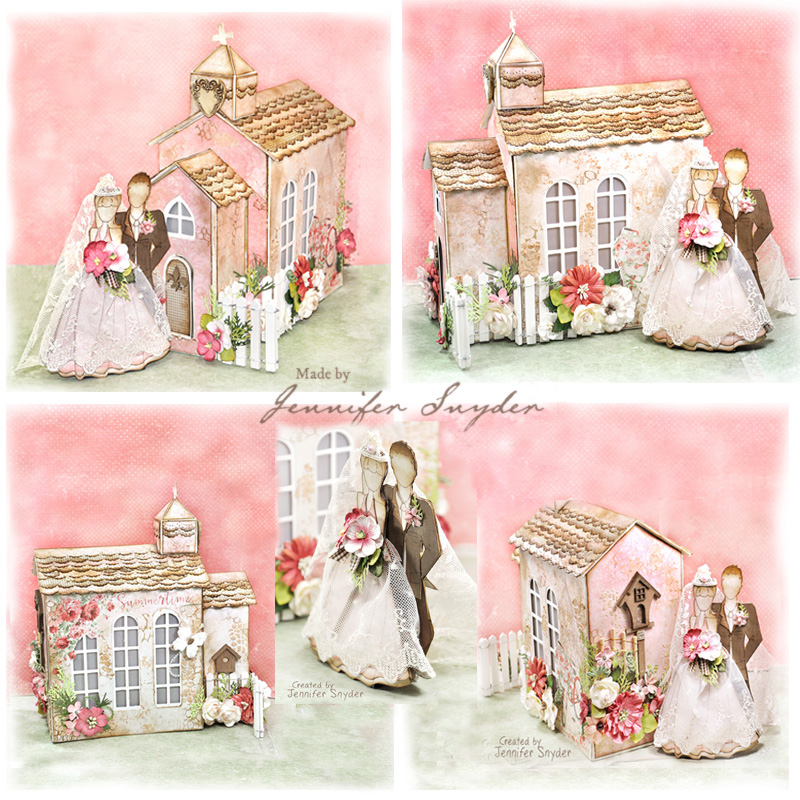 Wedding Chapel Decoration Ideas: Scrap Escape: Wedding Chapel Bride & Groom