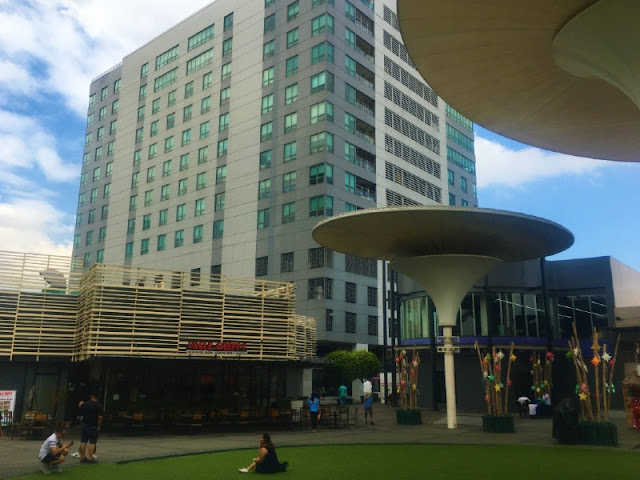 Centris Walk at Eton Complex in Quezon City