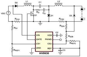 Design Boost-Buck Converter using HV9930