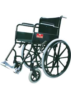 Black Magic Wheelchair With Mag Wheel