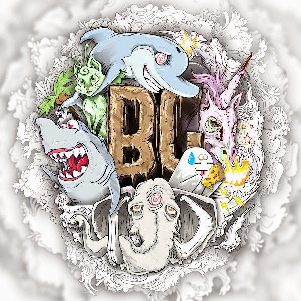 Borgore - The Buygore Album Cover