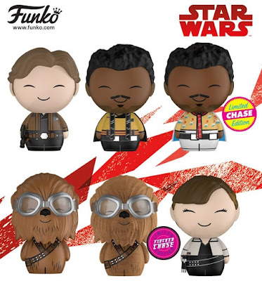 Disney Store Exclusive Solo A Star Wars Story Dorbz Vinyl Figures by Funko