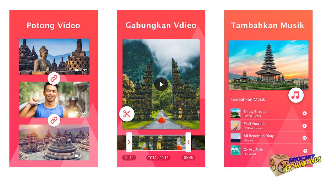 YouCut Editor Video Pembuat Video,Tanpa Tanda Air