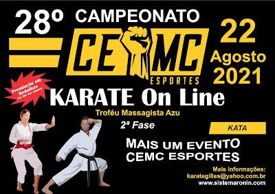 28º Campeonato CEMC de Karate On-Line - 2 ª Etapa