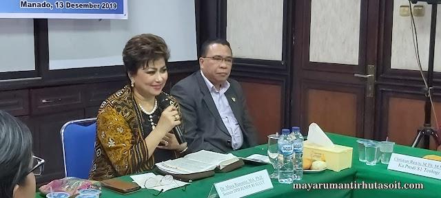 Senator Maya Rumantir Serukan Sulut Jadi Pionir SDM