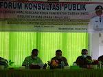 Bappeda Nias Utara Gelar Forum Konsultasi Publik