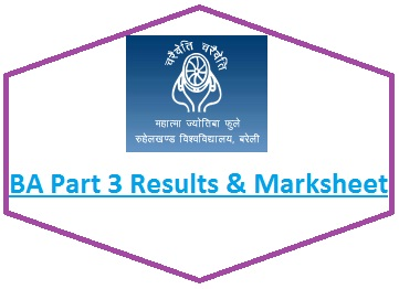 Bareilly University BA Part 3 Result 2020