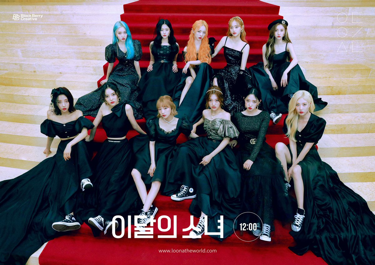 LOONA Opens Pre-order for Mini Album '12: 00′ by Releasing a New Concept Photos