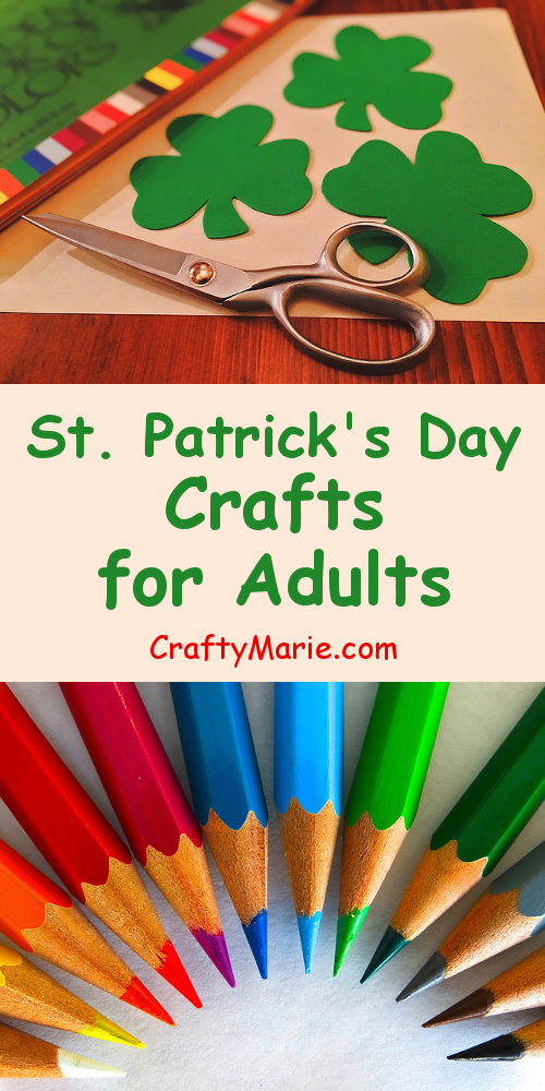 10 best st patrick 39 s day crafts for adults
